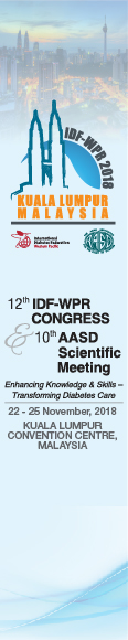 12th International Diabetes Federation Western Pacific Region Congress (IDF-WPR 2018) and the 10th Scientific Meeting of Asian Association for the Study of Diabetes (AASD)